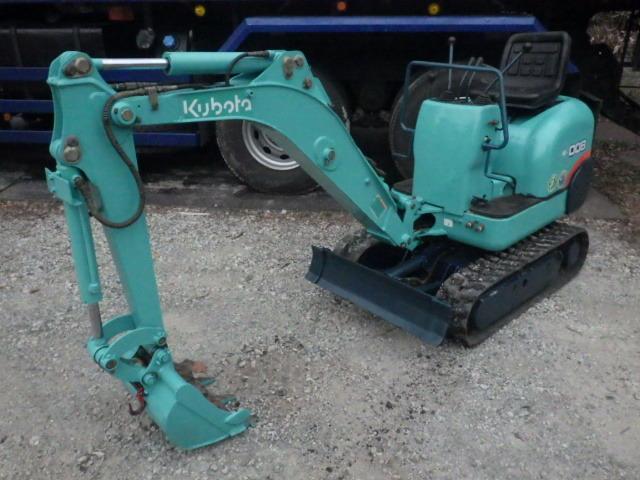 クボタ K-008 ミニ油圧ショベル バックホー ユンボ 伸縮 整備済み