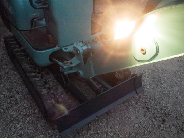 クボタ K-008 ミニ油圧ショベル バックホー ユンボ 伸縮 整備済み_画像10