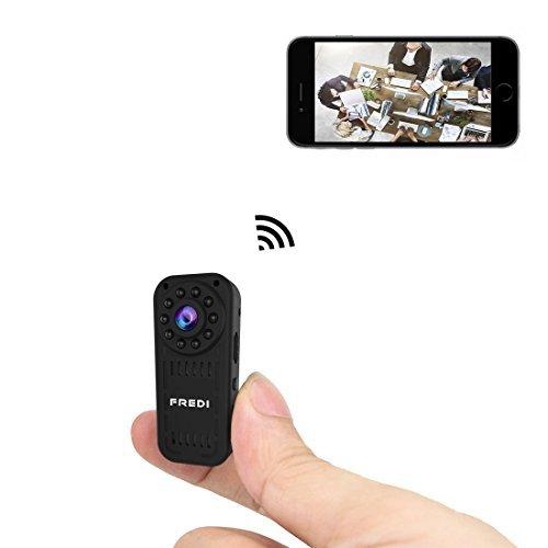 【1円スタート新品未使用】超小型&高画質WiFi隠しカメラ 防犯カメラ 監視カメラ 暗視録画機能付き iPhone/Android/iPad 遠隔監視,操作可能