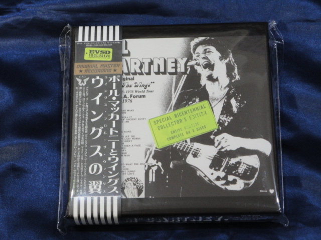 Empress Valley 3CD Paul McCartney & Wings From The Wings_画像1