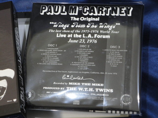 Empress Valley 3CD Paul McCartney & Wings From The Wings_画像3