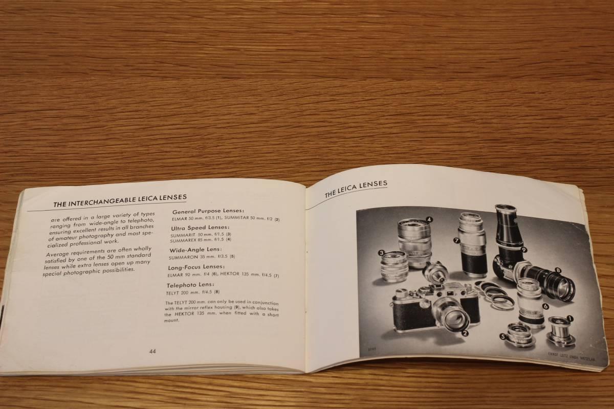 Leica If, IIf, IIIf (1f, 2f, 3f) 説明書 ◆ Instruction Book ◆ バルナックライカ_画像6