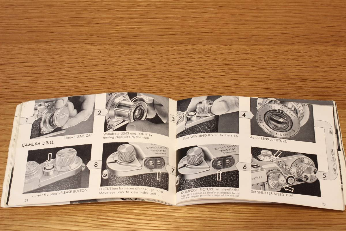 Leica If, IIf, IIIf (1f, 2f, 3f) 説明書 ◆ Instruction Book ◆ バルナックライカ_画像3
