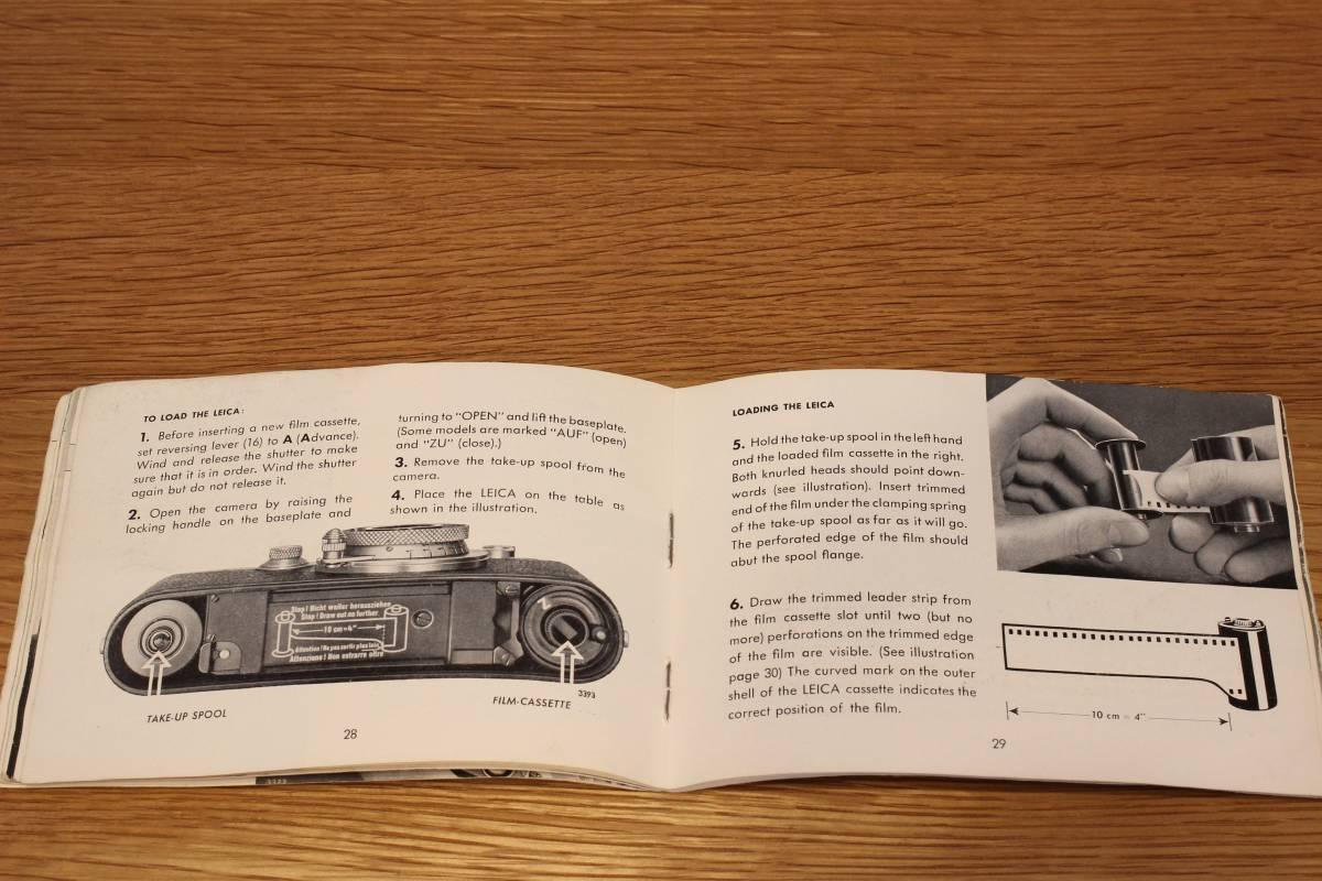 Leica If, IIf, IIIf (1f, 2f, 3f) 説明書 ◆ Instruction Book ◆ バルナックライカ_画像5