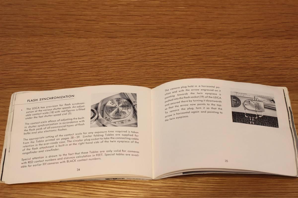 Leica If, IIf, IIIf (1f, 2f, 3f) 説明書 ◆ Instruction Book ◆ バルナックライカ_画像7
