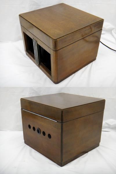 Columbia コロンビア MODEL-NO.117E Viva-tonal Grafonola グラフォノーラ 卓上型 蓄音器 [U]_画像4