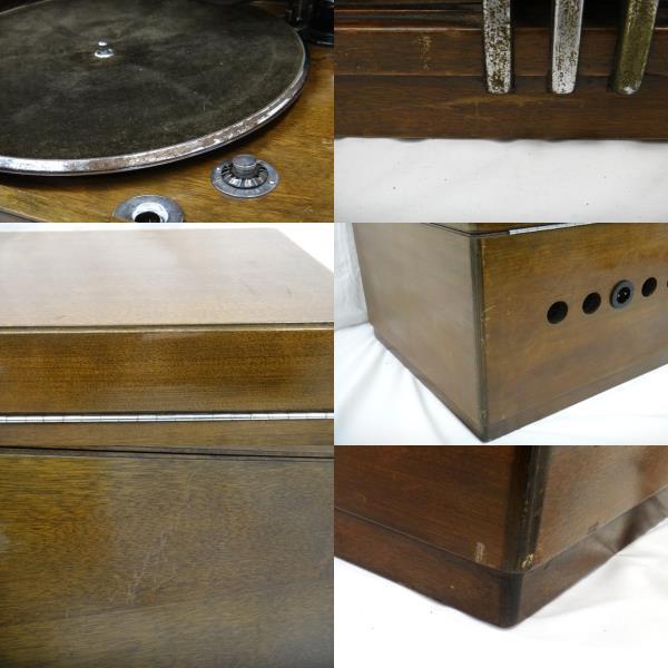 Columbia コロンビア MODEL-NO.117E Viva-tonal Grafonola グラフォノーラ 卓上型 蓄音器 [U]_画像9