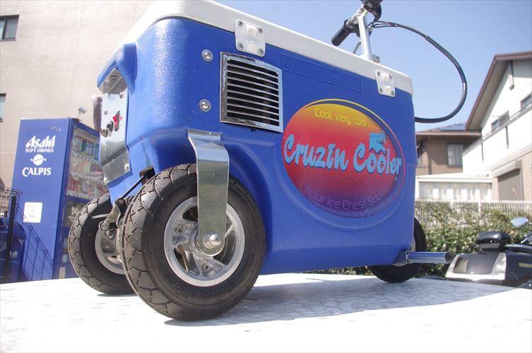 クルージンクーラー 500W 乗用玩具 三輪車 クーラーBOXにタイヤがついて走れちゃう!!各種イベントに大活躍!!バッテリーなし!_画像1