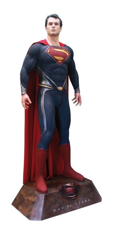 お盆限定価格^0^世界777体限定モデル スーパーマン / マックルマネキン  208cm 等身大フィギュア_画像7