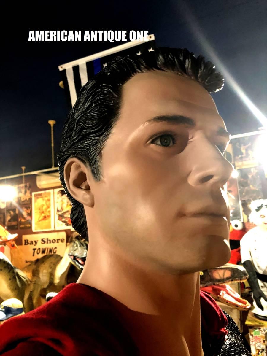 お盆限定価格^0^世界777体限定モデル スーパーマン / マックルマネキン  208cm 等身大フィギュア_画像10