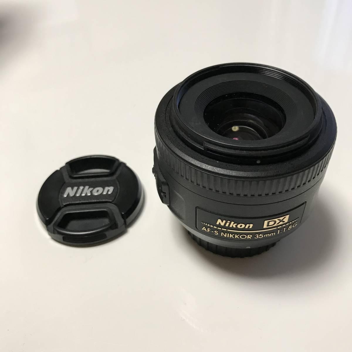 ニコン★35mm f/1.8 DX★Nikon 単焦点_画像2
