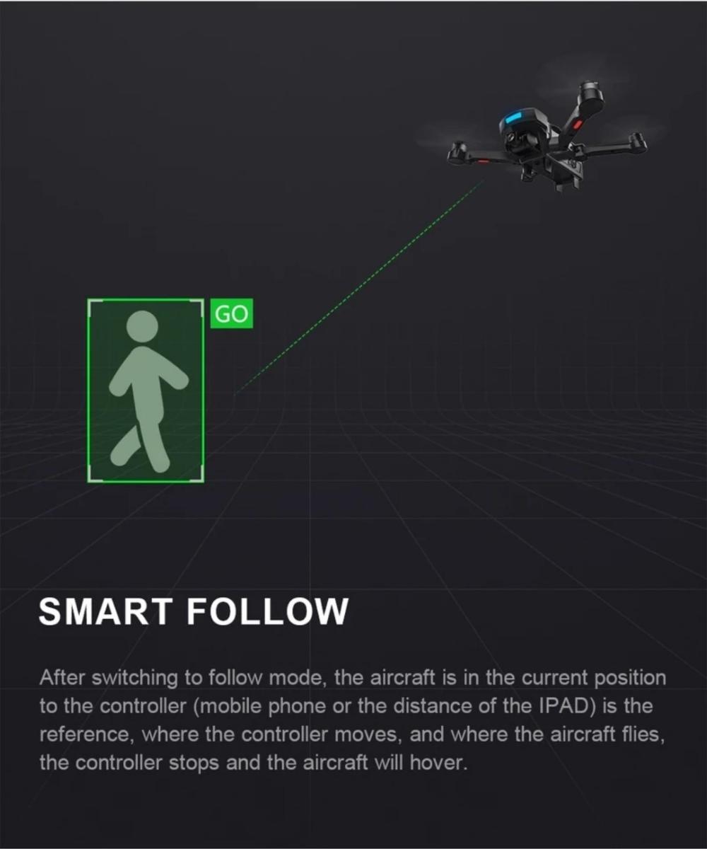 新型、CG033 GPS.ジンバルカメラ、1080p HD.画面付きコントローラー、ブラシレスモータ、2.4G.高度保持!_画像9