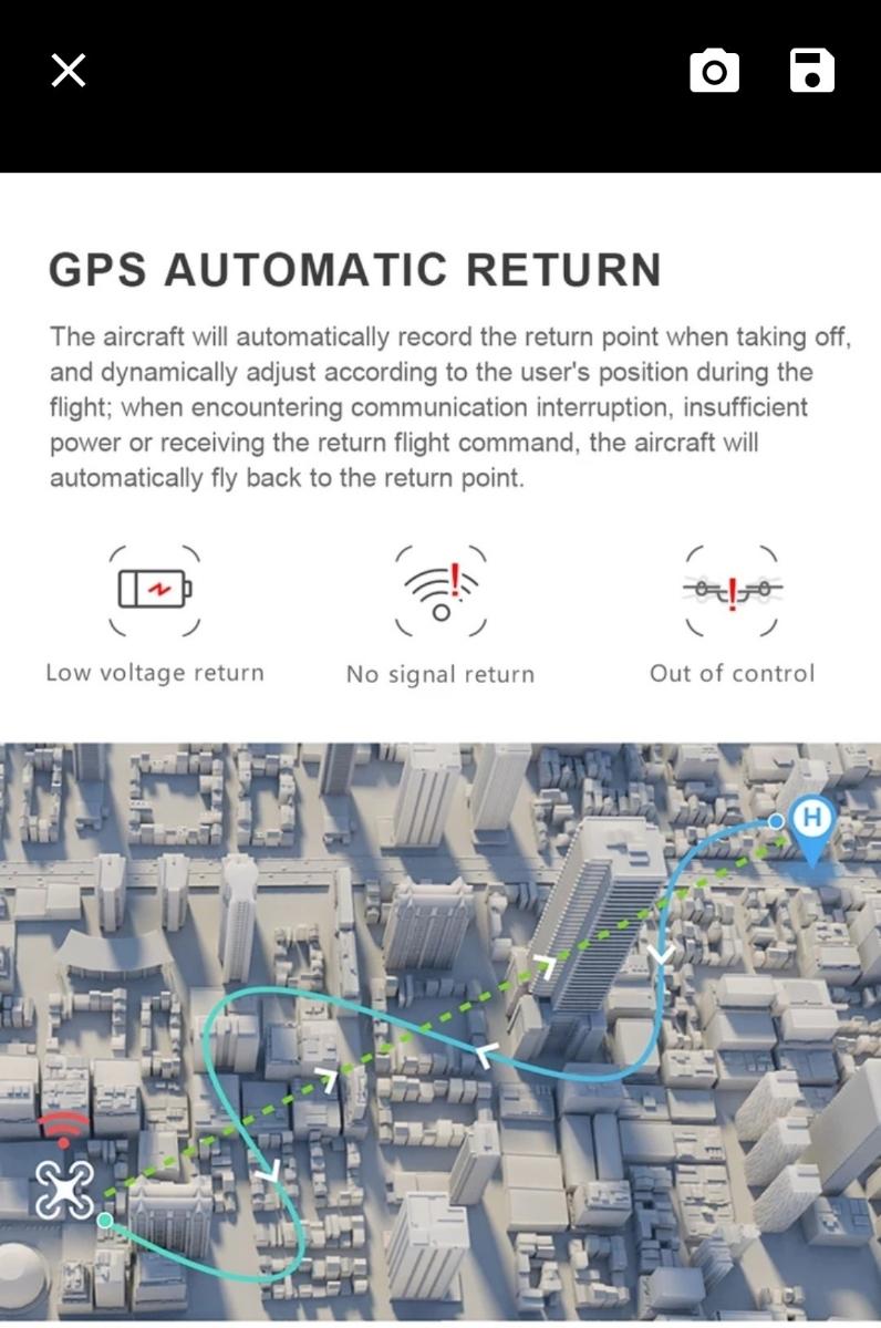 新型、CG033 GPS.ジンバルカメラ、1080p HD.画面付きコントローラー、ブラシレスモータ、2.4G.高度保持!_画像5