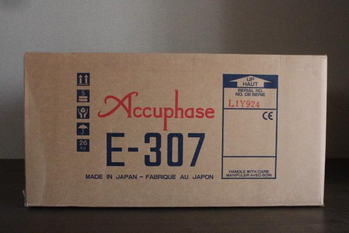 Accuphase アキュフェーズ プリメインアンプ E-307 美品 ワンオーナー 元箱・取扱説明書・リモコン 送料無料_画像10