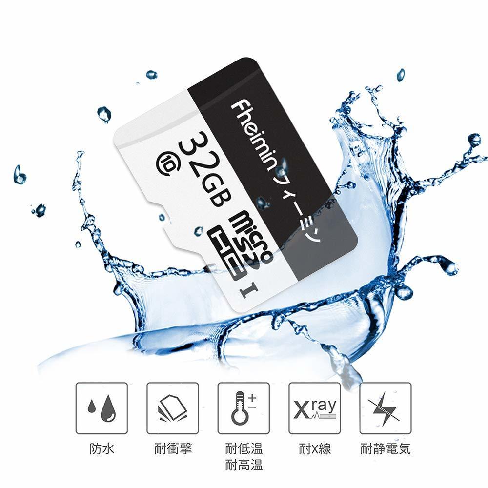 【Fheimin】 microSDHC カード 32GB Nintendo Switch/3DS 動作確認済 Class10 UHS-I対応 最大転送速度96MB/s [国内正規品 永久保証] 795900_画像4