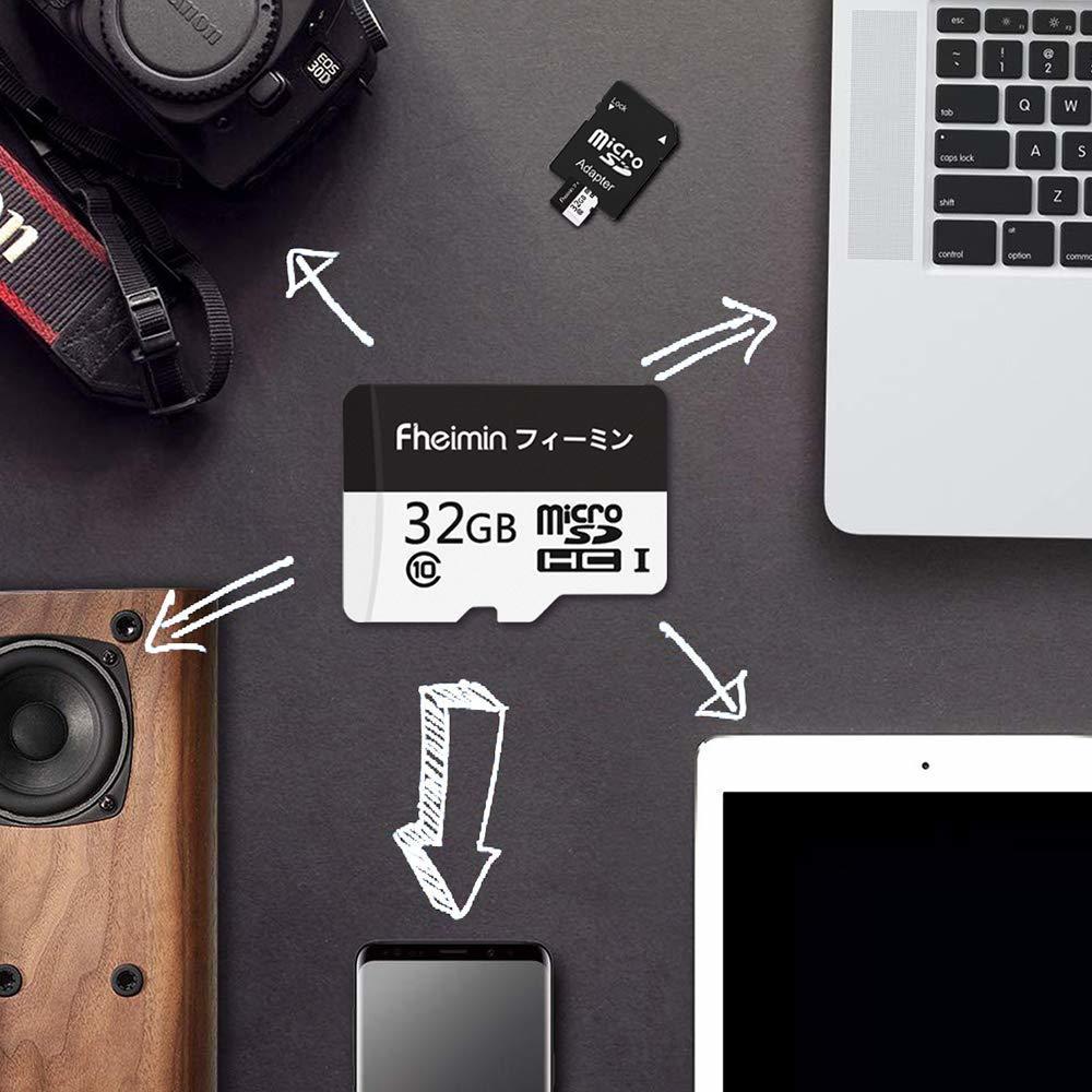 【Fheimin】 microSDHC カード 32GB Nintendo Switch/3DS 動作確認済 Class10 UHS-I対応 最大転送速度96MB/s [国内正規品 永久保証] 795900_画像6