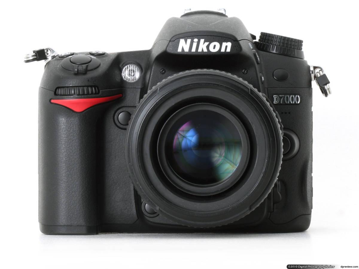 送料無料 【アウトレット】 展示品 Nikon D7000 ニコン レンズキット デジタル一眼レフカメラ 欠品あり レア 1円から 限定品 即決あり
