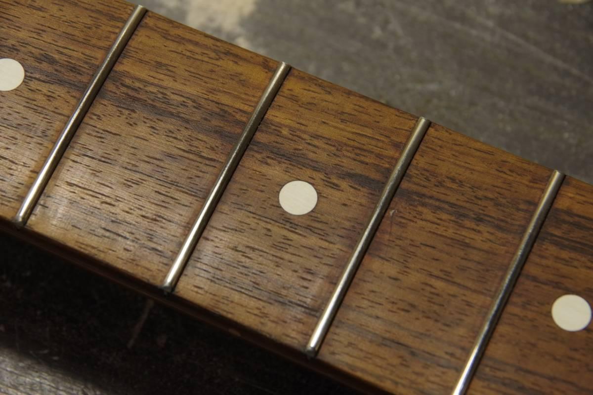 フレット交換 リフレット ギター・ベース ステンレスフレットもOK! 最短1週間でご返送!! 札幌_画像5