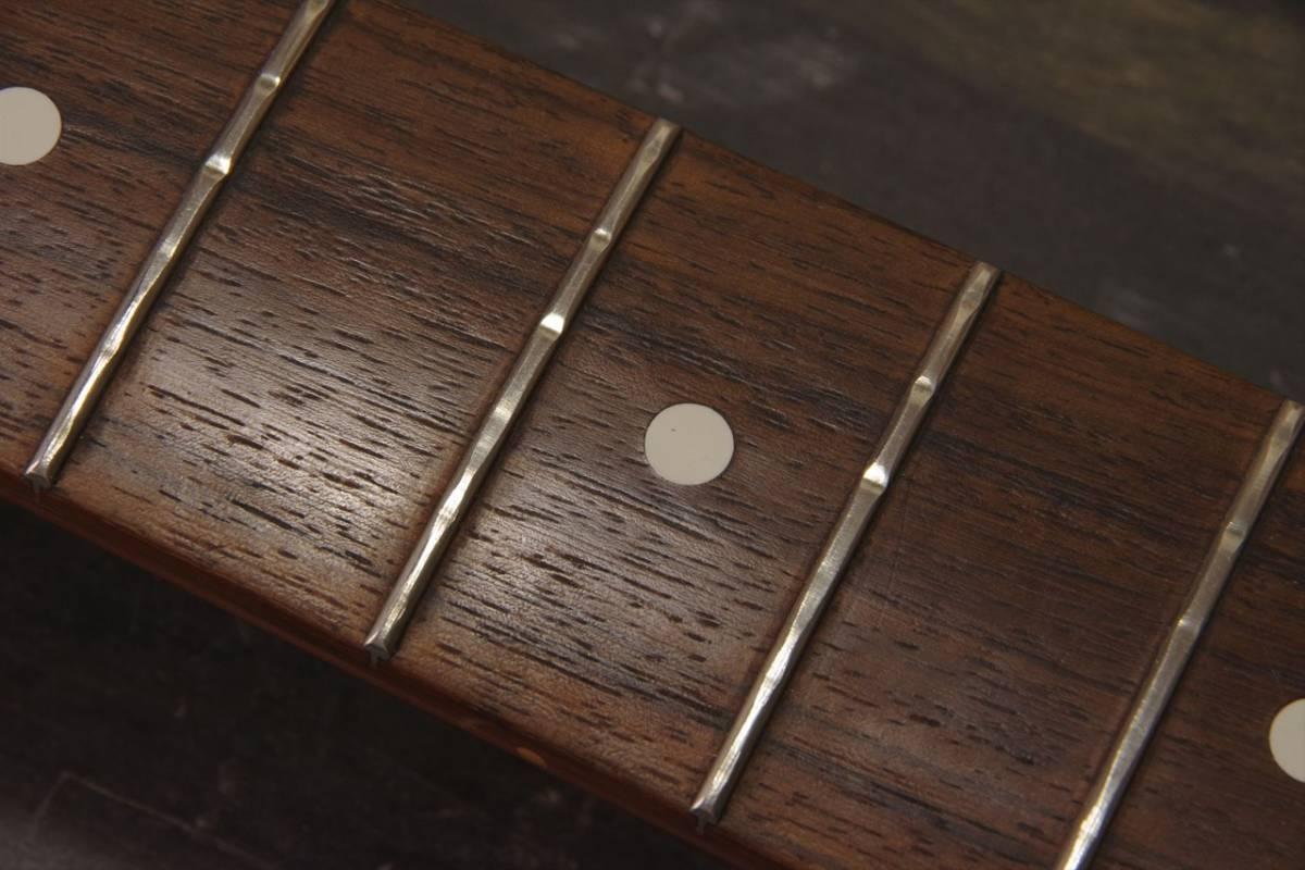 フレット交換 リフレット ギター・ベース ステンレスフレットもOK! 最短1週間でご返送!! 札幌_画像4