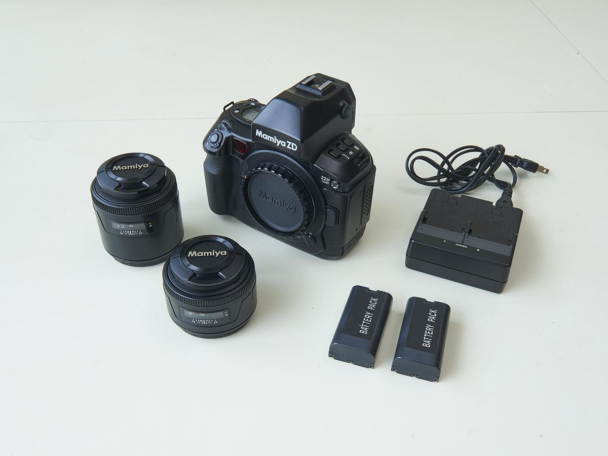 マミヤ Mamiya ZD 一眼レフ デジタルカメラ 55mm 80mm レンズセット