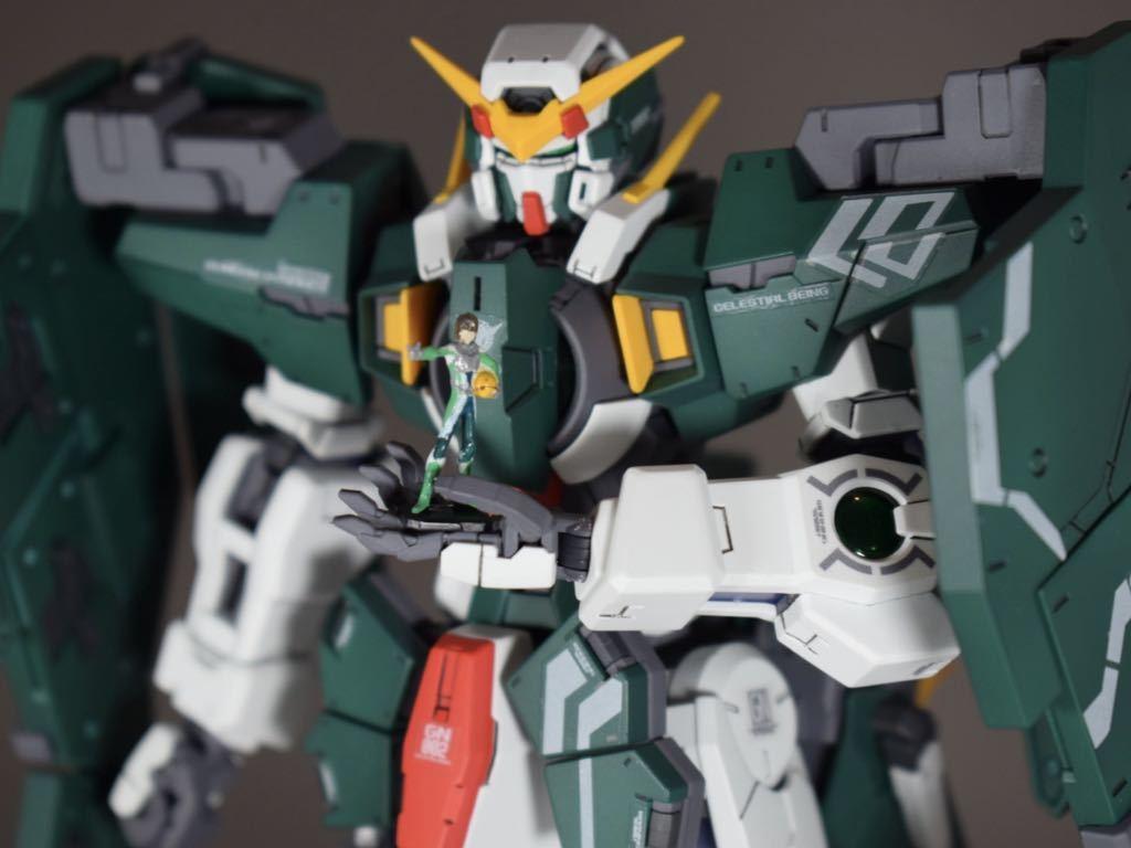 MG 1/100 ガンダムデュナメス 塗装 完成品 機動戦士ガンダムOO ガンプラ_画像5