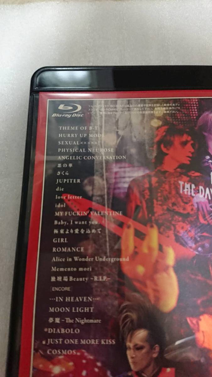 BUCK-TICK Blu-ray THE DAY IN QUESTION 2011 日本武道館 _画像2