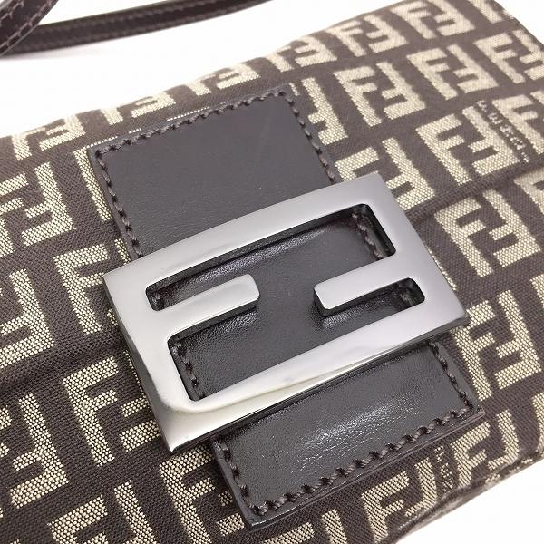 ○フェンディ 美品 ハンドバッグ ズッカ柄 B15-012_画像3