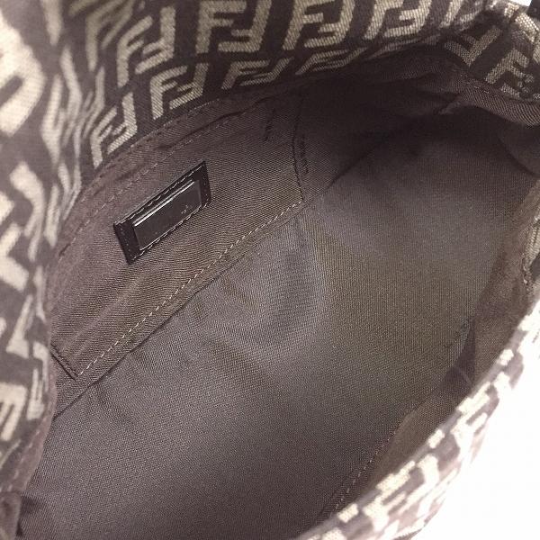 ○フェンディ 美品 ハンドバッグ ズッカ柄 B15-012_画像5