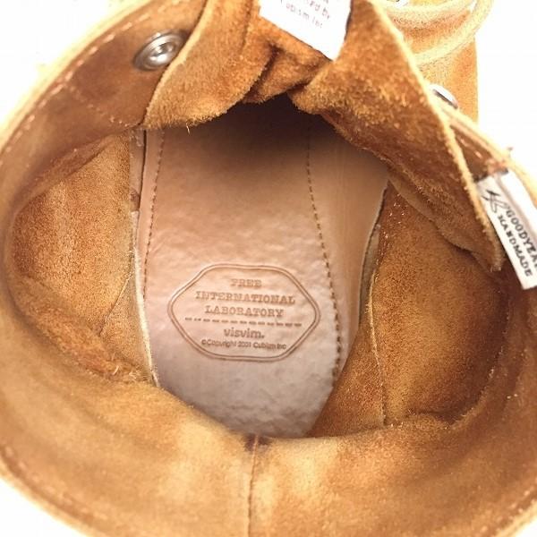 ○visvim ブーツ virgil boots folk ハイカット 10サイズ 28㎝ 箱有 B3-116_画像5