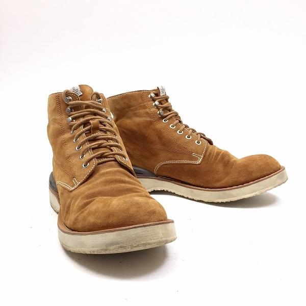 ○visvim ブーツ virgil boots folk ハイカット 10サイズ 28㎝ 箱有 B3-116_画像3