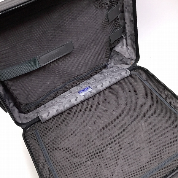 ○リモワ サルサ 美品 「810.52」 スーツケース ギャランティー有 35L 4輪 スーツケース 機内持ち込み可 B1-001_画像9