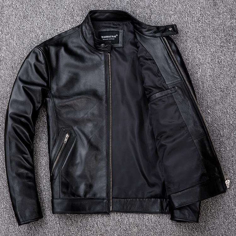 サイズM ライダース バイクジャケット メンズ レザージャケット 本革 ミリタリージャケット 羊革 革ジャン ライディング バイクウェア_画像3