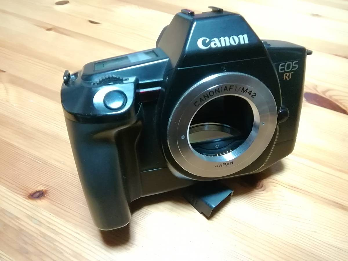 キャノン EOS RT M42 ペトリ CC Auto 50mm F1.7 オールドレンズマウントアダプター_画像3