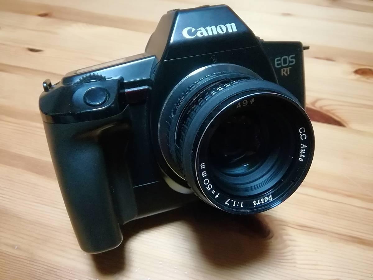 キャノン EOS RT M42 ペトリ CC Auto 50mm F1.7 オールドレンズマウントアダプター_画像7