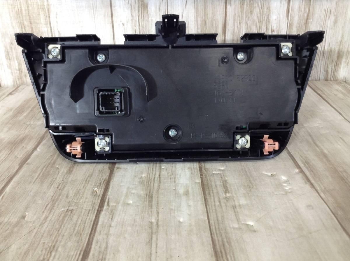 AA1644 ZD53S スズキ スイフト エアコンパネル エアコンスイッチ インパネ 内装パネル_画像5