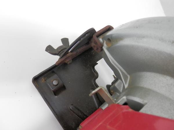 HITACHI 日立 ブレーキ付 丸のこ 鋸 FC6B 木工用 超硬 最大切込55mm _画像7