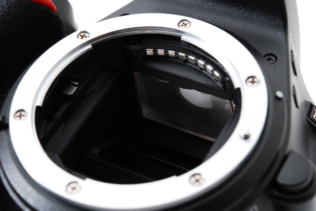 【動作確認済/超美品】 ニコン Nikon D5500 ボディ 三脚 収納バック MT0213_画像9