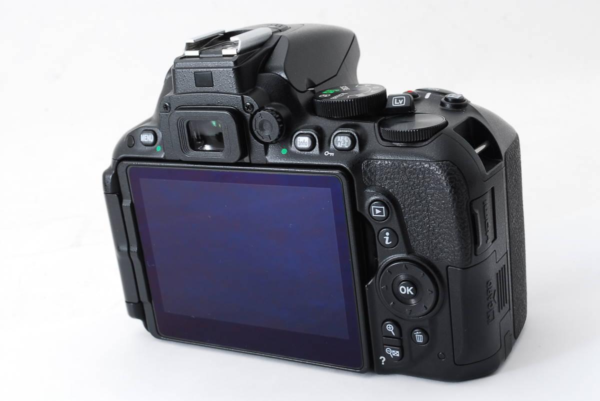 【動作確認済/超美品】 ニコン Nikon D5500 ボディ 三脚 収納バック MT0213_画像4