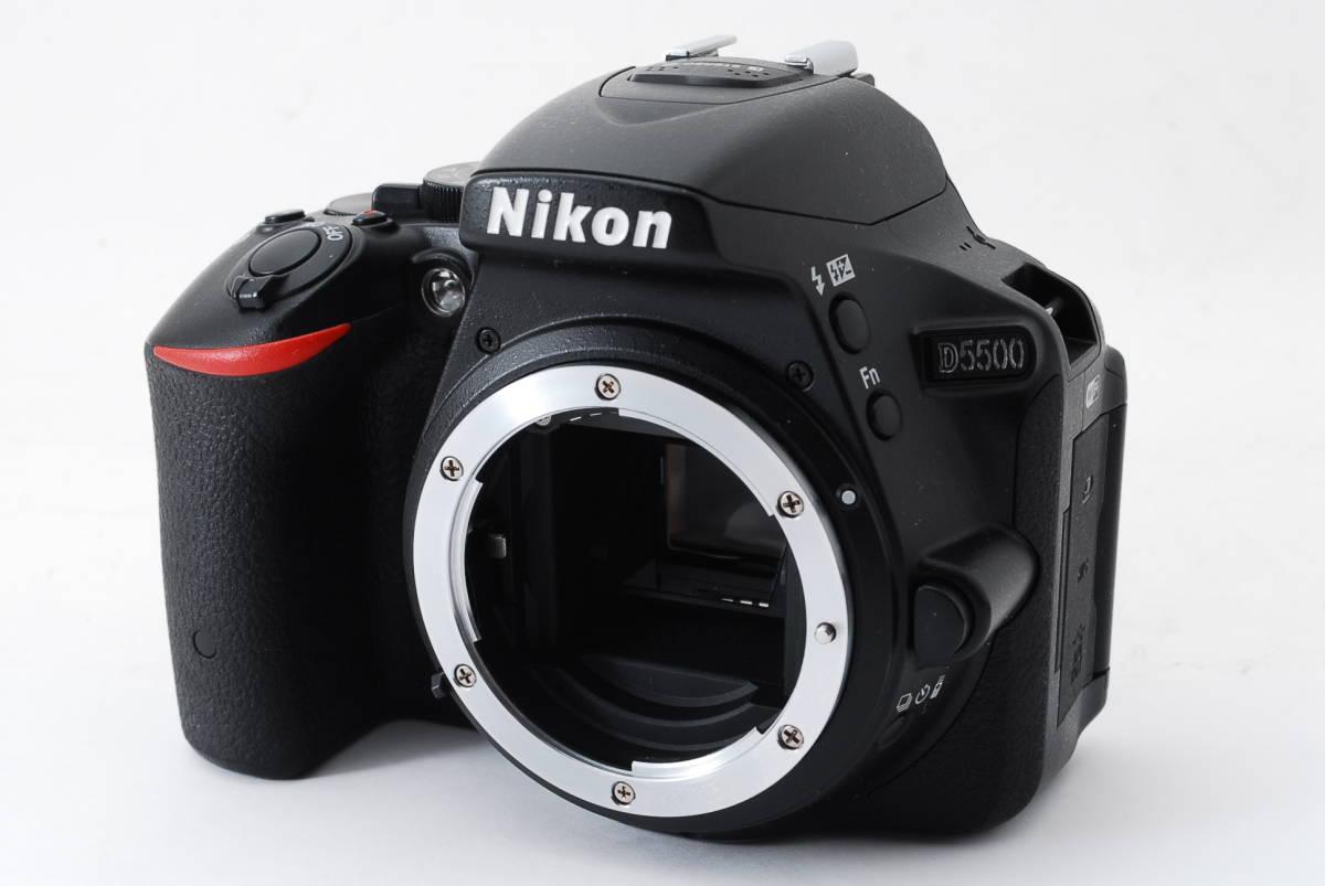 【動作確認済/超美品】 ニコン Nikon D5500 ボディ 三脚 収納バック MT0213_画像3
