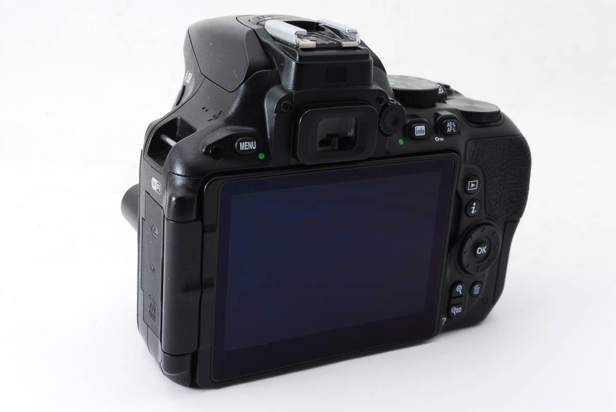【動作確認済/超美品】 ニコン Nikon D5500 ボディ 三脚 収納バック MT0213_画像5