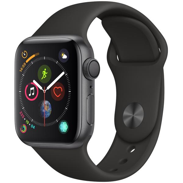 Apple Watch Nike+ スペースグレイアルミニウムケースとアンスラサイト/ブラックNikeスポーツバンド