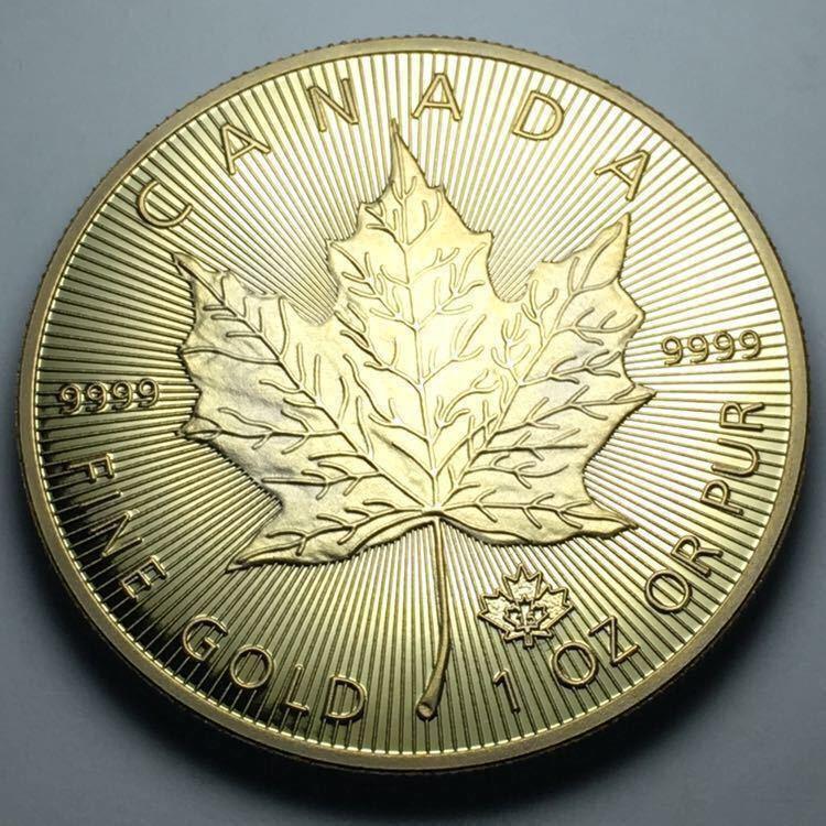 カナダ メイプルリーフ 記念金貨 1oz 1オンス 2コイン 2015年 コレクション メダル 約29グラム