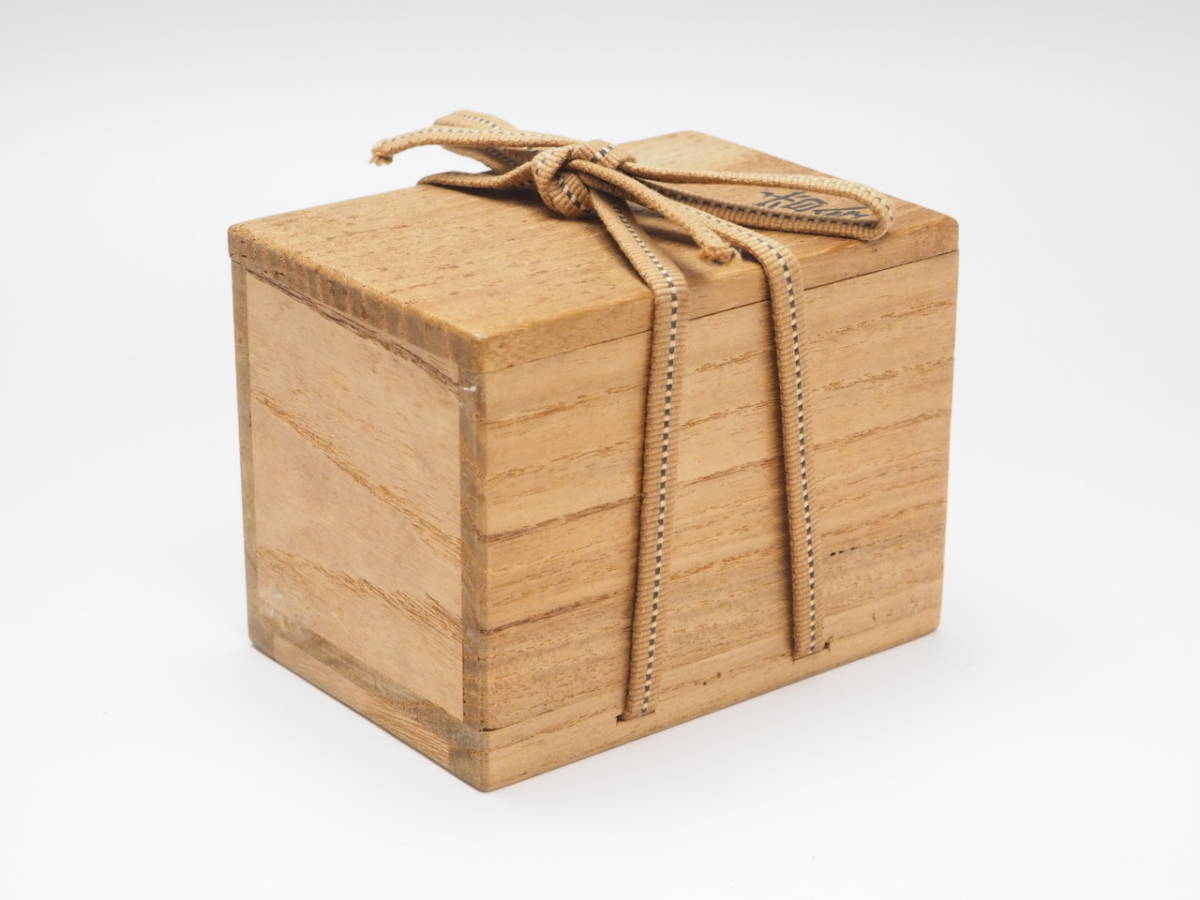 Y0A0052 【 時代物 赤絵 干支 酉 香合 木箱付 無傷 】 検) 茶道具 香道具 茶器 香蓋 合子 陶器 古玩 古い 美術品 鳥 トリ 古美術 p03_画像9