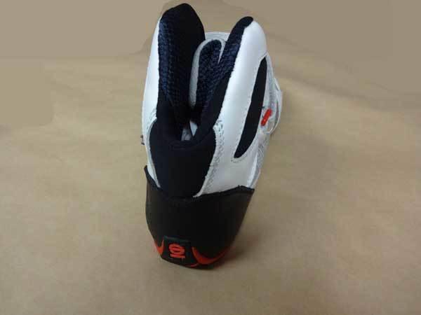 最安値セール!!スパルコレーシングシューズ新品■レーシングカート SPARCO OMEGA KB-6 Kart Shoes 白■ホワイト_画像5