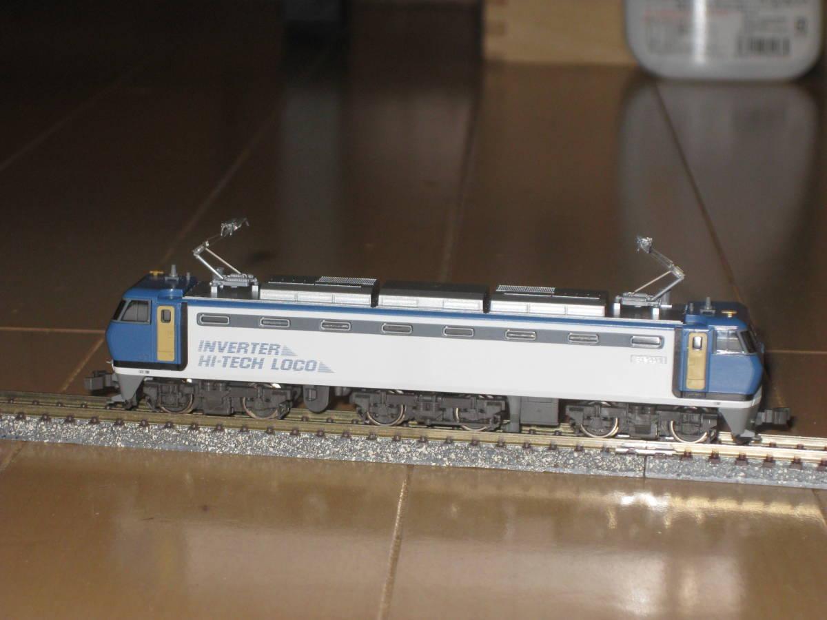 1) Nゲージ カトー 3018 EF200 電気機関車 シングルアームパンタ 動作確認済。美品。_画像1