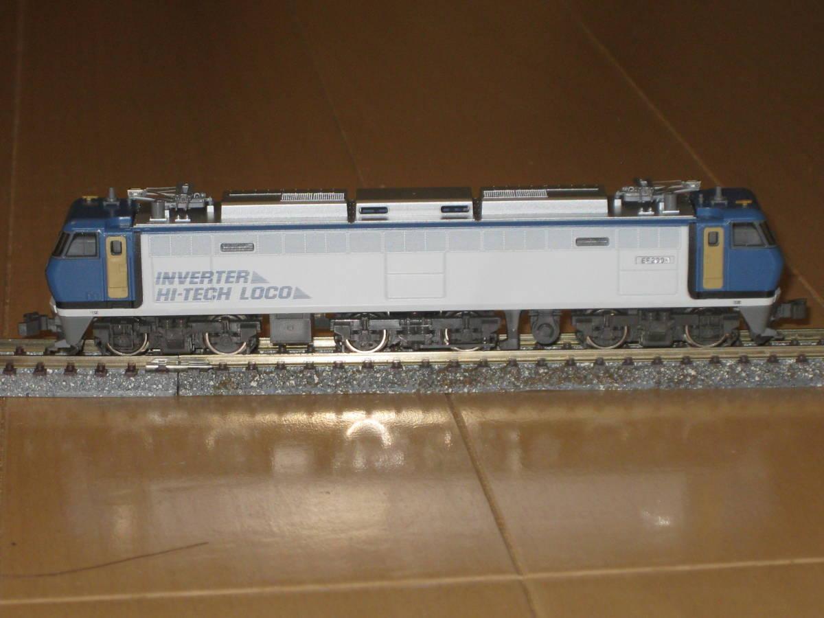 1) Nゲージ カトー 3018 EF200 電気機関車 シングルアームパンタ 動作確認済。美品。_画像3