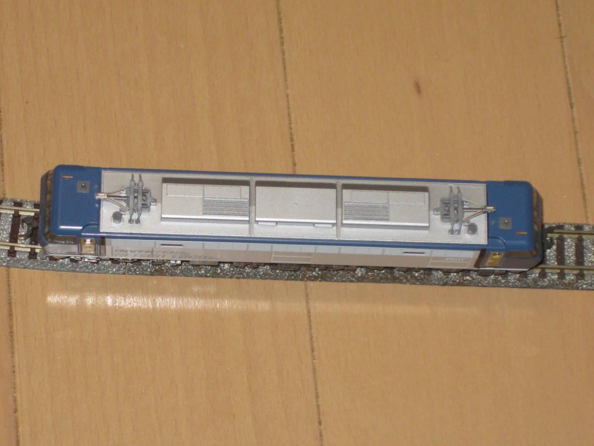 1) Nゲージ カトー 3018 EF200 電気機関車 シングルアームパンタ 動作確認済。美品。_画像5