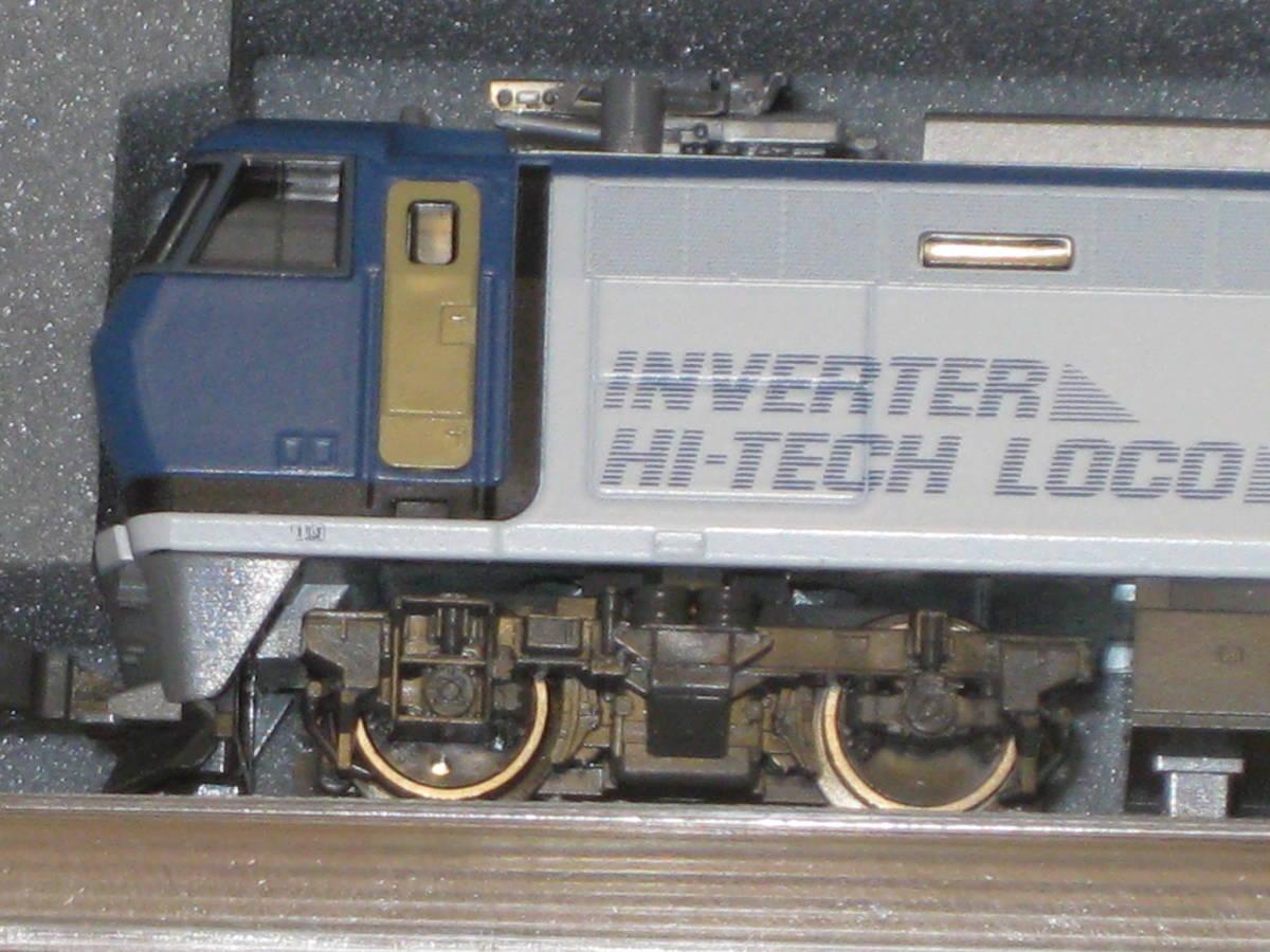 1) Nゲージ カトー 3018 EF200 電気機関車 シングルアームパンタ 動作確認済。美品。_画像7