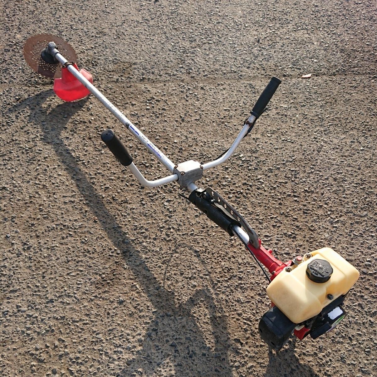 ほぼ現行モデル ゼノア BC340FWP 34cc 草刈り機 山林 造園 プロ向け 刈払い機 刈払機 草刈機 草刈り機 刈り払い機 ツノハンドル Uハンドル