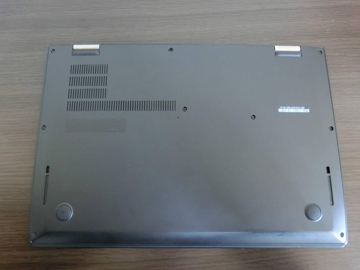 Lenovo ThinkPad X1 Carbon Core i7 6600U 16GB フルHD Windows10 メーカー保証あり ワケアリ品_画像4